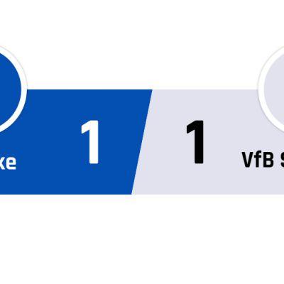 Schalke - Stuttgart 1-1