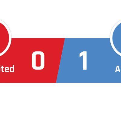 Manchester United - Arsenal 0-1