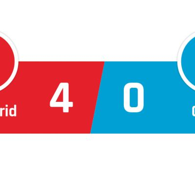 Atlético Madrid - Cadiz 4-0