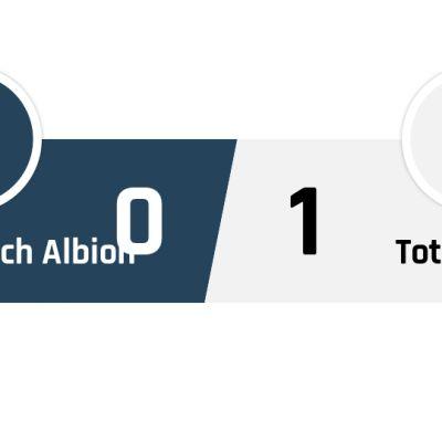West Bromwich Albion - Tottenham 0-1