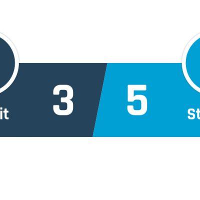 Tiikerit - Steelers 3-5