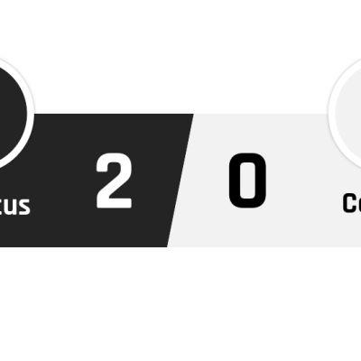 Juventus - Cagliari 2-0