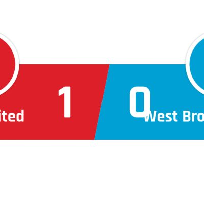 Manchester United - West Bromwich Albion 1-0