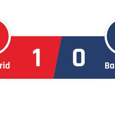 Atlético Madrid - Barcelona 1-0
