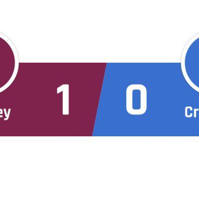 Burnley - Crystal Palace 1-0