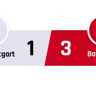 Stuttgart - Bayern München 1-3