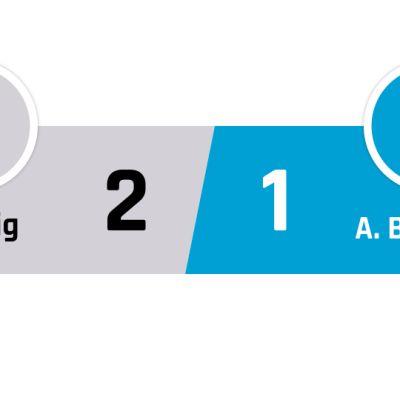 Leipzig - A. Bielefeld 2-1