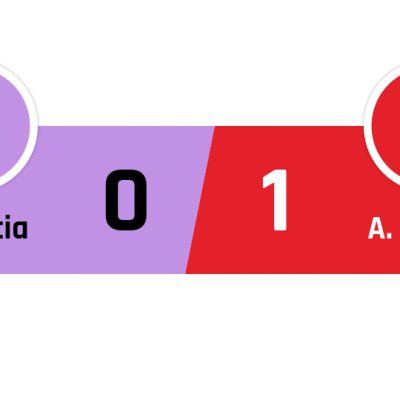 Valencia - Atlético Madrid 0-1