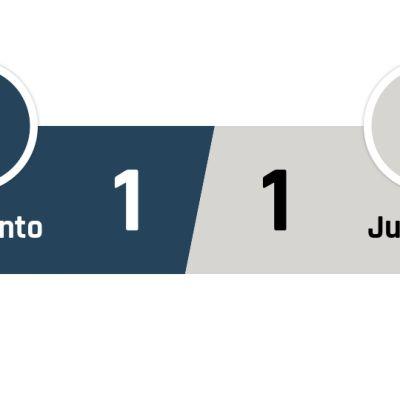 Benevento - Juventus 1-1
