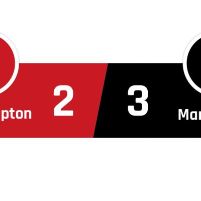 Southampton - Manchester United 2-3