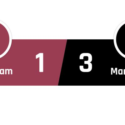 West Ham - Manchester United 1-3