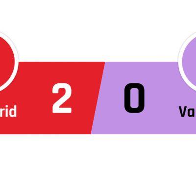 Atlético Madrid - Valladolid 2-0