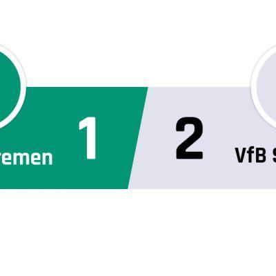 Werder Bremen - Stuttgart 1-2