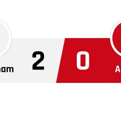 Tottenham - Arsenal 2-0