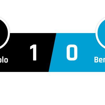 Sassuolo - Benevento 1-0