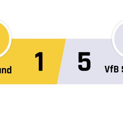 Dortmund - Stuttgart 1-5