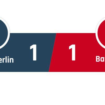 Union Berlin - Bayern München 1-1
