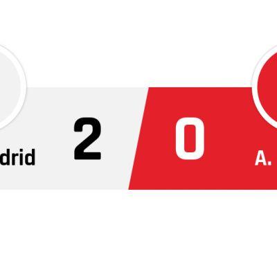 Real Madrid - Atlético Madrid 2-0