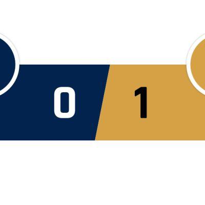 PSG - Lyon 0-1