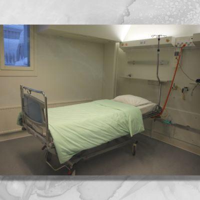 Lapin keskussairaalan huone