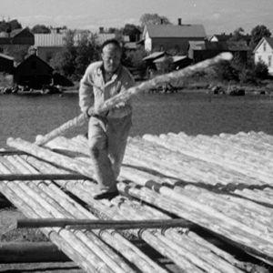 Reimarin rakentamista Haapasaaressa 1964.