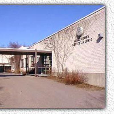 Hangö finska högstadie och gymnasium.
