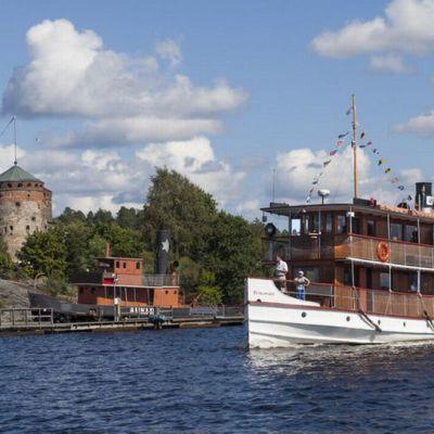 Punkaharju-laiva Saimaalla.