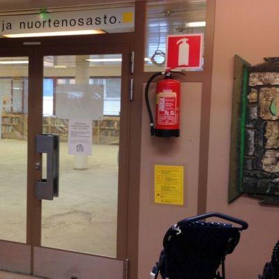 Lappeenrannan kirjaston lastenosaston remontti