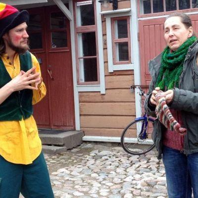 Aapo Stavén ja Maria Fomin.