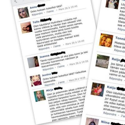 Facebook-markkinoinnissa saatetaan käyttää tekaistuja profiileja.