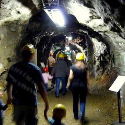 Outokummun Vanhan kaivoksen kaivoskäytävä