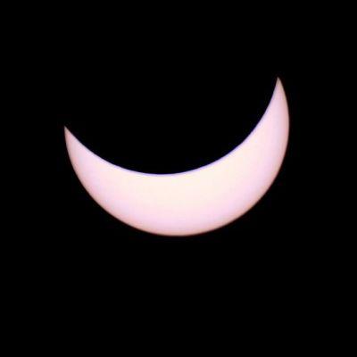 Aurinko pimeni Mikkelin kohdalla yli 80 prosenttisesti.