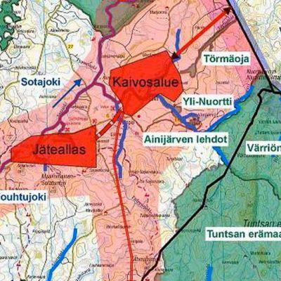 Sokli erämaana -liike esittelee Soklin kaivoksen vaikutusaluetta nettisivuillaan.
