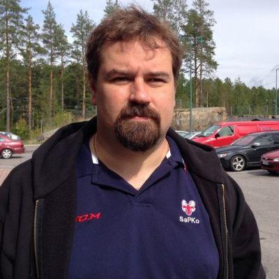 SaPKon päävalmentaja Janne Sinkkonen