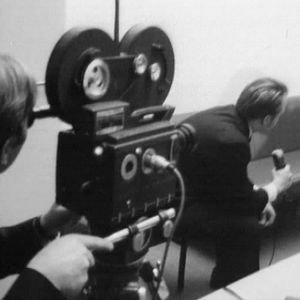 Tv-uutisjutun teossa (1969).