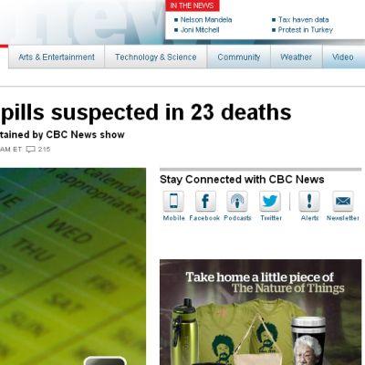 Yaz Yasmin p-piller tros stå bakom dödsfall