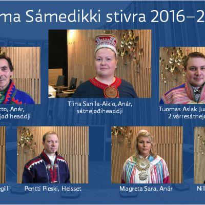 Suoma Sámedikki stivra 2016-2019
