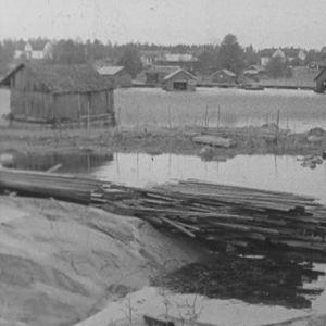 Syksyinen saaristolaiskylä