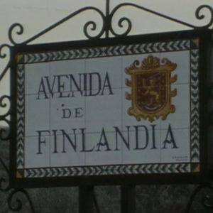Tiekyltti Los pacosin lomakylässä Espanjassa.