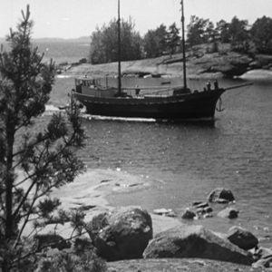 Kaljaasi Vellamo matkalla Haapasaareen 1964