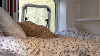 Sängen i Ellen Söderbergs bil