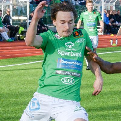 Ekenäs IF mot FC Haka.