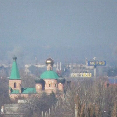 Nya strider rapporteras i Donetsk