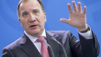 Sveriges statsminister Stefan Löfven