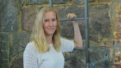 Hanna Lupala i Sportmåndag 17.8.2015