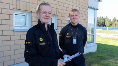 Lotta Holopainen och Mika Hämäläinen