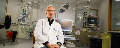 Mika Valtonen on Ylilääkäri TYKS.