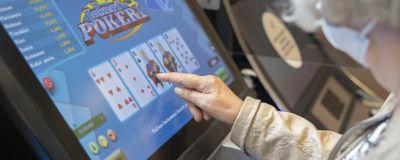 Spelande på automat