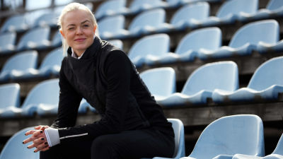Jonna Berghem i Nordsjö våren 2021.