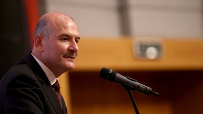 Turkiets inrikesminister Suleyman Soylu.
